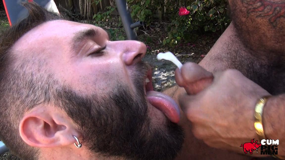 Gay Eating Cum Video