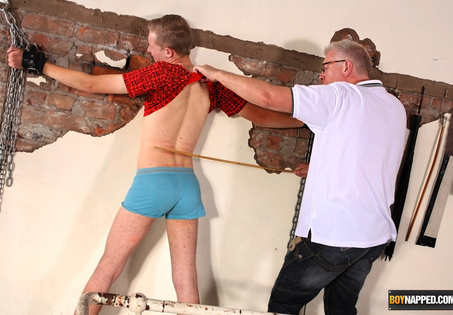 Naughty olly deserves a stern punishment