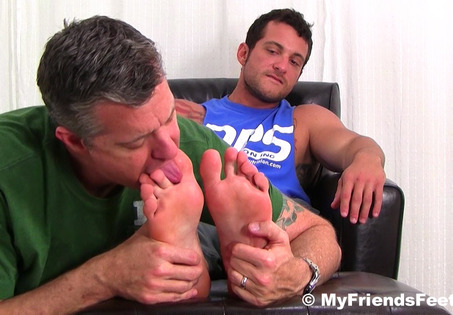Marine Ned Dominates Me With His Size 10 Feet