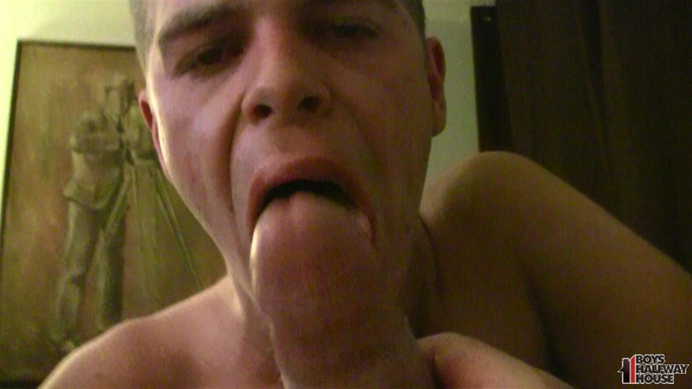 18 yr old college freshman loves to swallow bbc cum 6