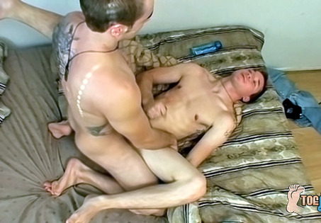 Kelly cooper and krist engage in toe sucking and rough anal