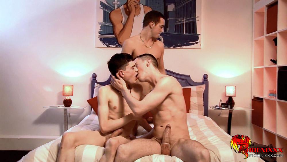 suprise threesome