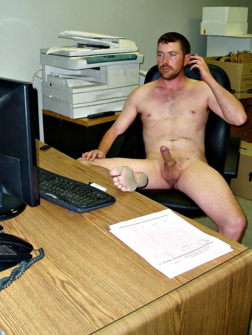 nude average men