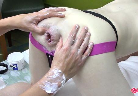 Wet fist anal extreme bizarre