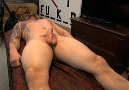 Josh Tugging Dick